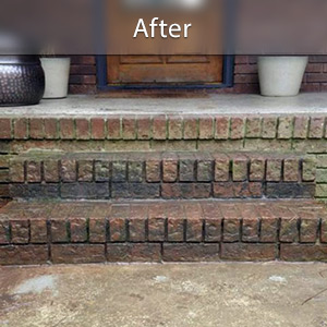 Sinking stairs repaired with PolyLevel® Monroe